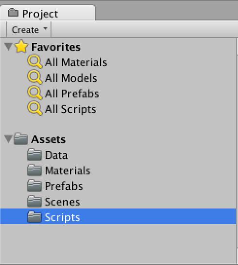 Unity - Topology Folders