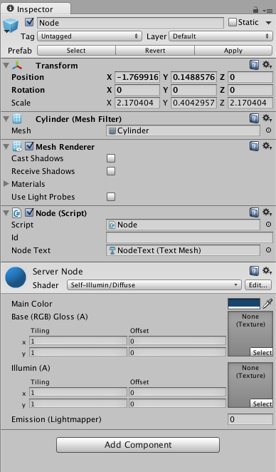 Unity - Node Properties
