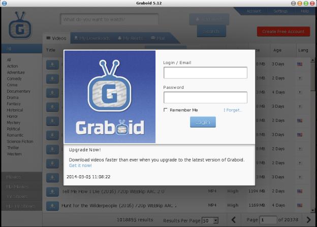 Graboid on Linux
